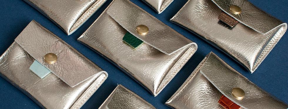 Porte-monnaie Cabourg - doré