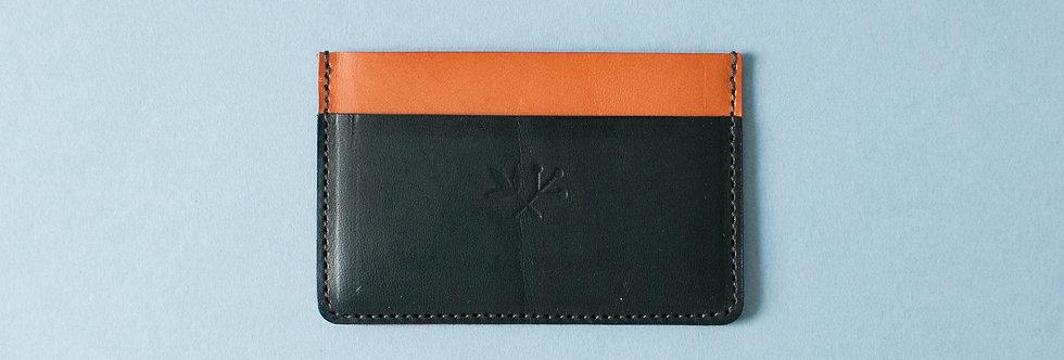 Porte-cartes Roscoff - miel & marine ou marron