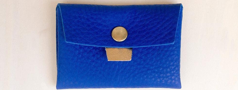 Porte-monnaie Cabourg - bleu électrique