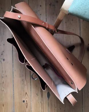 cartable en cuir