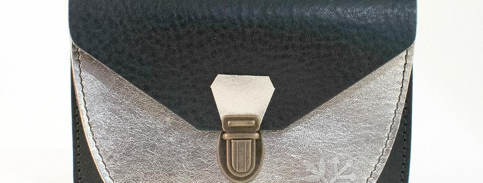 Portefeuille Paimpol - noir & doré