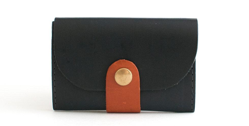 Porte-monnaie Ouessant - marine et doré