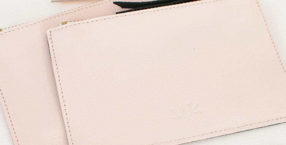 mini Pochette Cancale - rose pale