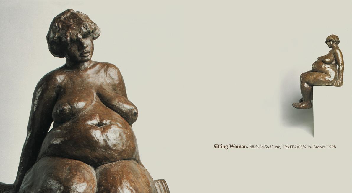 #001 - Sitting Woman, 1998