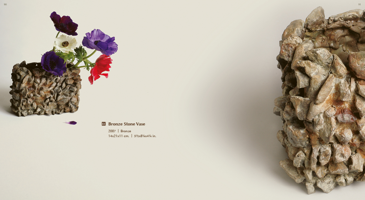 #051 - Stone Bronze Vase, 2007