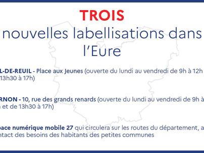 France Services : 3 nouvelles structures labellisées dans l'Eure