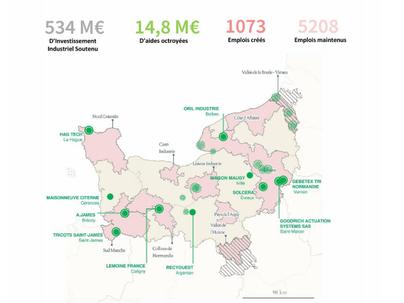 France relance : reconquête industrielle à travers 448 projets