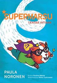 marsu-kSupermarsu lentää Intiaan -kirjan