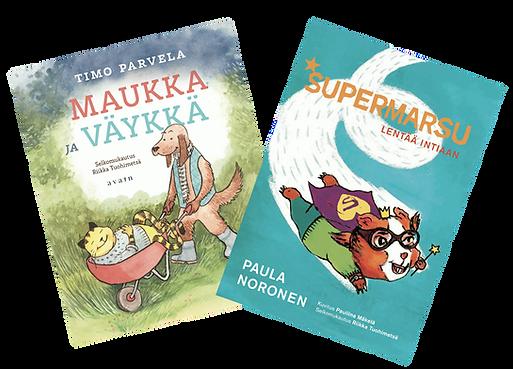 Selkokirjat Maukka Väykkä Supermarsu