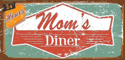 Mom's Diner - 24 Hours