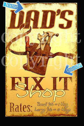 Dad's Fix It Shop