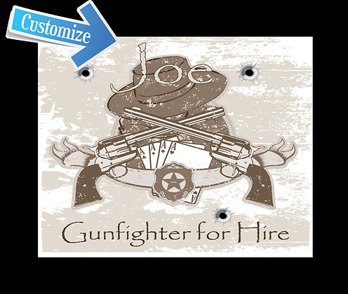 Gunfighter For Hire