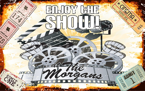 Enjoy The Show - Theater Room Sign