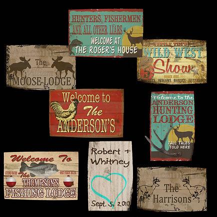 Custom Tin Signs, Vintage Tin Signs, Personalized Tin Signs, Vintage Metal Signs