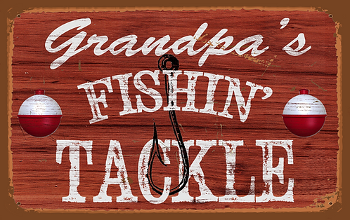 Grandpa's Fishin' Tackle - RB-LC-21