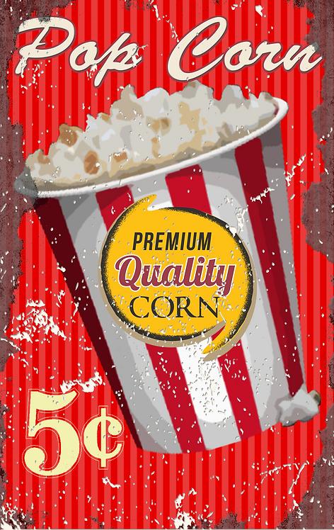 Pop Corn - 5 Cents