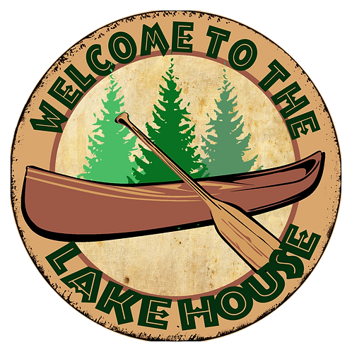 Lake House Canoe Circle - RB-LC-35