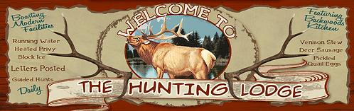 Elk Hunting Lodge - RB-LC-10