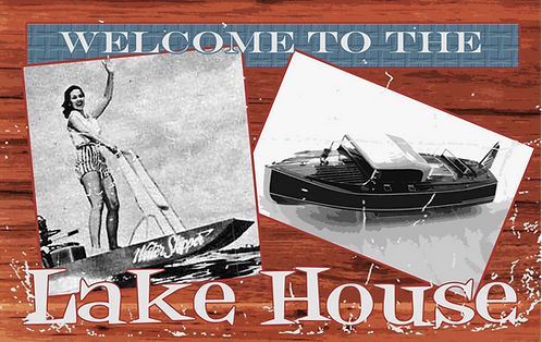 Vintage Lake House - RB-LC-25