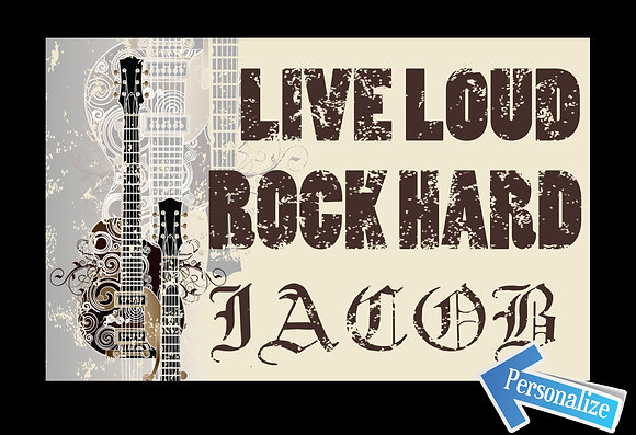 Live Loud...Rock Hard
