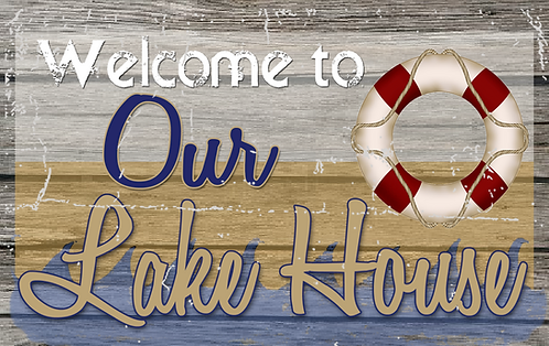 Welcome to our Lake House - RB-LC-23