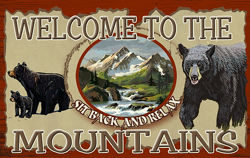 Welcome to the Mountains - RB-LC-27