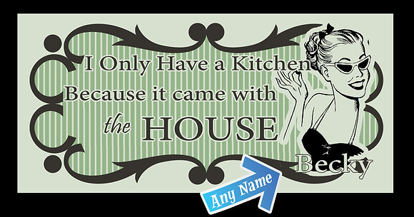 Kitchen came with the House