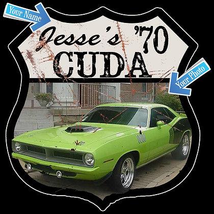 Custom Route 66 -Cuda