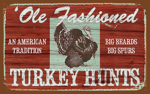 Ole Fashioned Turkey Hunts - RB-LC-26