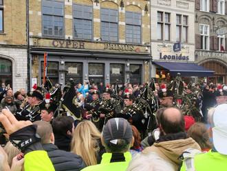 Commémoration du 11 novembre à Ypres