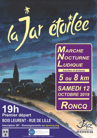 la JAR étoilée - samedi 12 octobre 2019