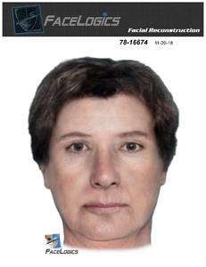 New Forensic Art for NAMUS Case UP374