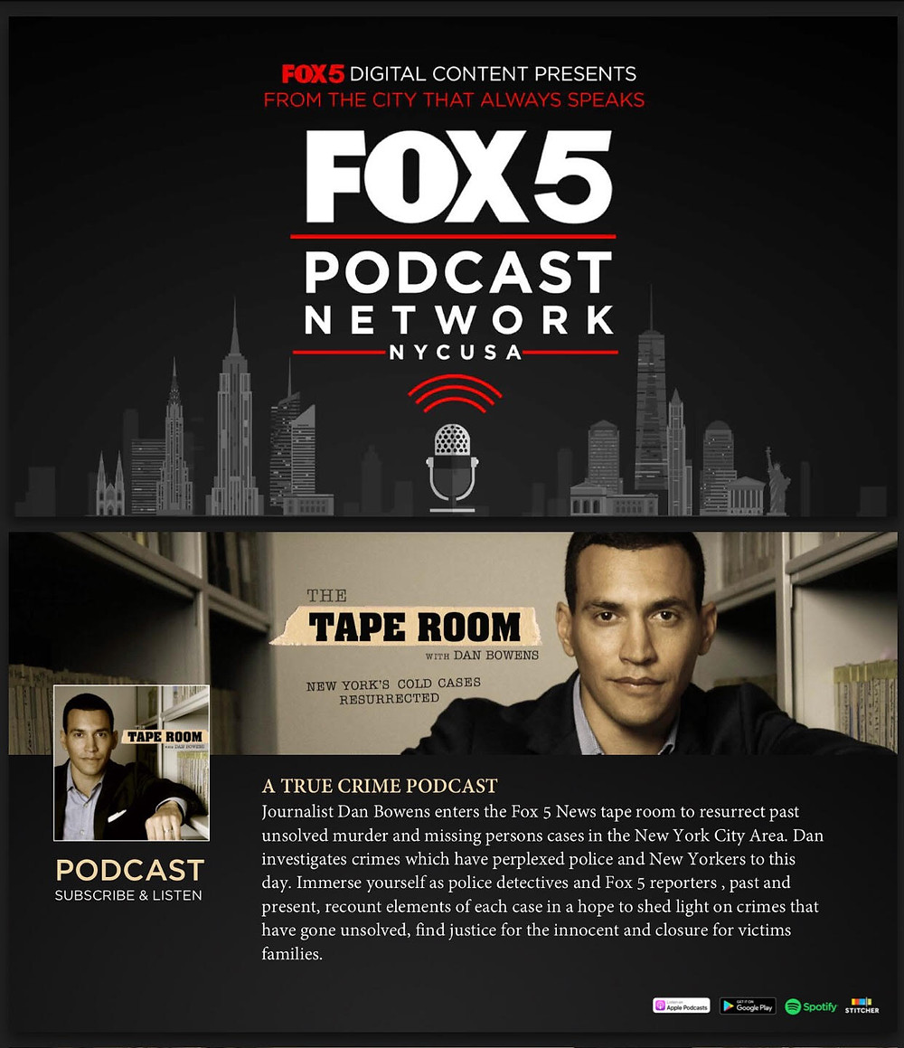 Fox5 Podcast Network: The Tape Room, Hosted by Dan Bowens