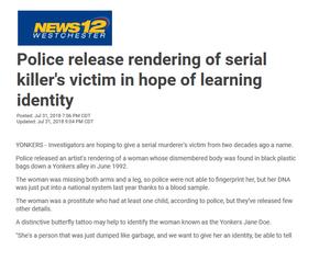 Yonkers Jane Doe Victim of Serial Killer Robert Shulman