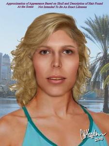 Carl Koppelman forensic art of Julie Doe