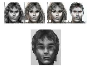 FaceApp digital manipulations of Stephen Fusco forensic art