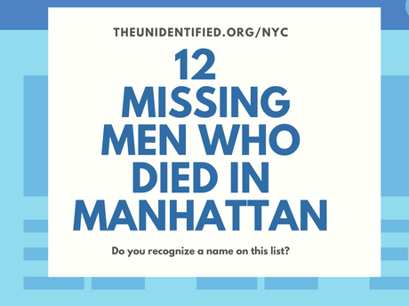 Do you recognize a missing person on this list?