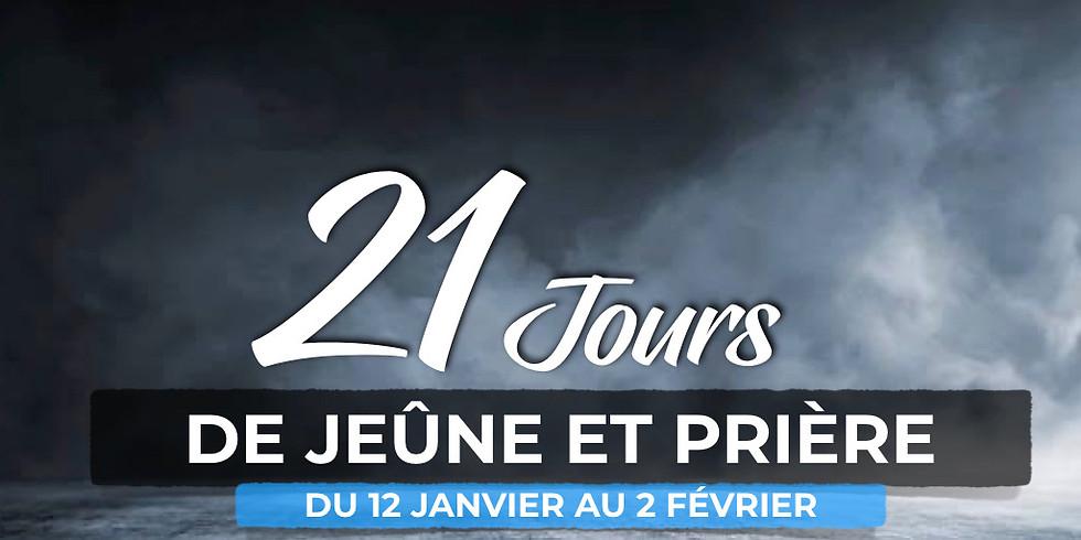 21 jours de jeûne et de prière