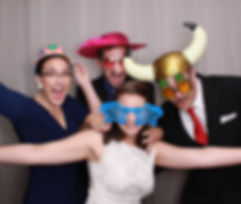 Photo booth at NH Wedding