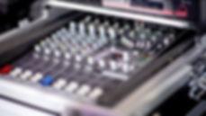 Mackie mixing board