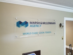 Interior Acrylic Sign
