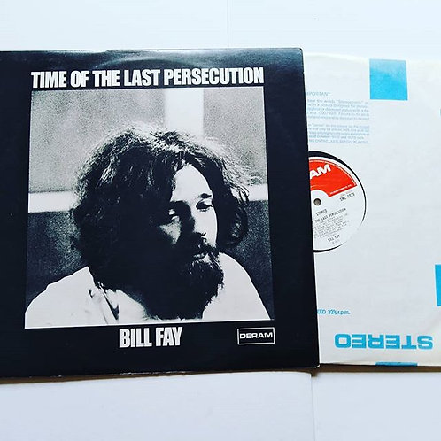 Billy Fay Time of the Last Persecution