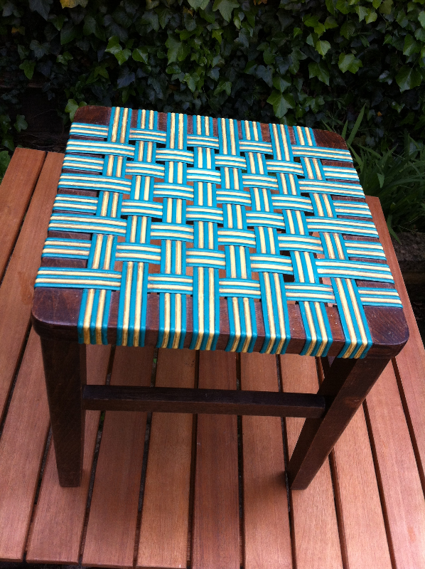Teak, Danish footstool 1960