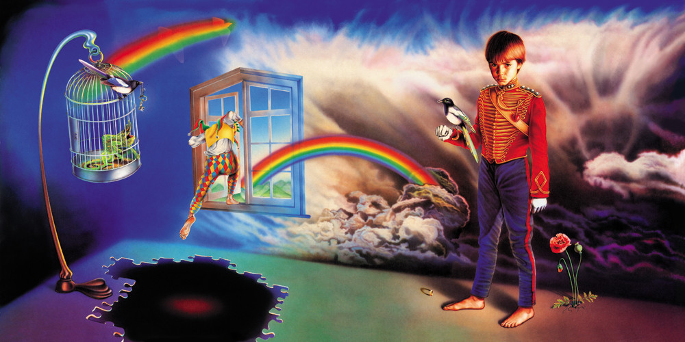 Misplaced Childhood By Marillion album artwork by Mark Wilkinson