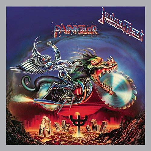 Judas Priest Painkiller album cover design by Mark Wilkinson