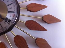 Anstey and Wilson Sunburst clock