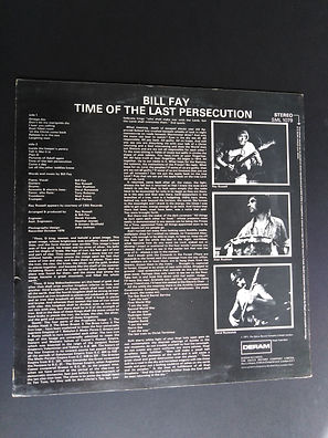 Bill Fay Time of the Last Persecution Deram