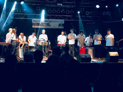 Music College Hannover Drum Performance.