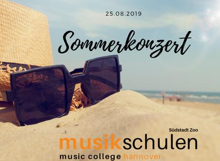 Sommerkonzert am Standort Südstadt Zoo