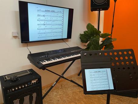 Digitalisierung der Musikschule & frische Luft!